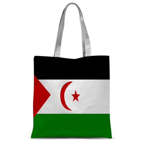 Flag Of Western Sahara Sublimation Tote Bag Accessories Flagdesignproducts.com