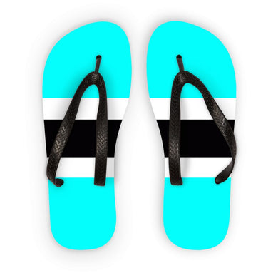 Flag of Botswana Flip Flops - FlagDesignProducts