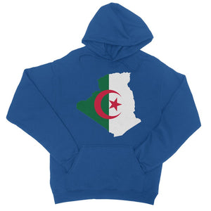 Algeria Continent Flag College Hoodie Apparel Flagdesignproducts.com