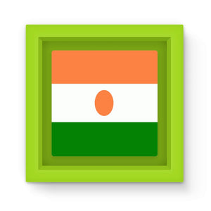 Flag Of Niger Magnet Frame Homeware Flagdesignproducts.com