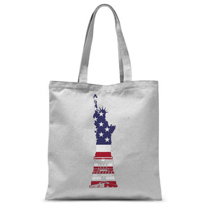 Usa Flag State Of Liberty Sublimation Tote Bag Accessories Flagdesignproducts.com
