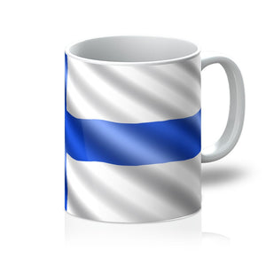 Waving Finland Flag Mug Homeware Flagdesignproducts.com