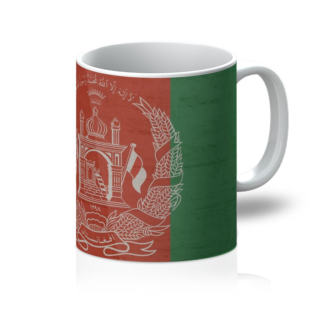 Afganistan Stone Wall Flag Mug Homeware Flagdesignproducts.com
