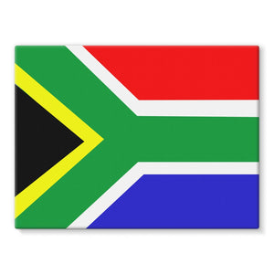 Flag Of South Africa Stretched Canvas Wall Decor Flagdesignproducts.com