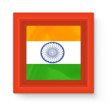 Waving Flag Of India Magnet Frame Homeware Flagdesignproducts.com