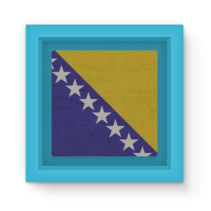 Bosnia & Herzegovina Magnet Frame Homeware Flagdesignproducts.com