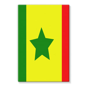 Flag Of Senegal Stretched Canvas Wall Decor Flagdesignproducts.com