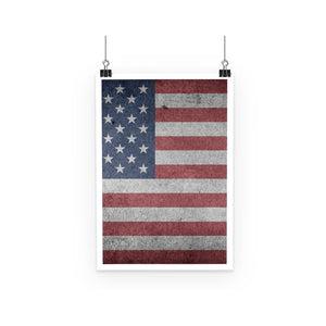 Grunde Old Usa Flag Poster Wall Decor Flagdesignproducts.com