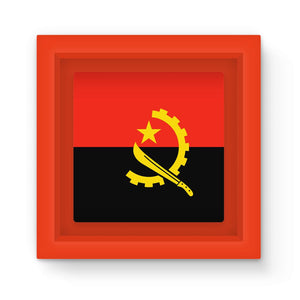 Angola Flag Magnet Frame Homeware Flagdesignproducts.com