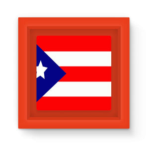 Flag Of Puerto Rico Magnet Frame Homeware Flagdesignproducts.com