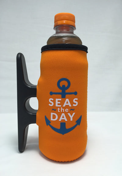 Big Orange Cleatus Cooler, Seas The Day