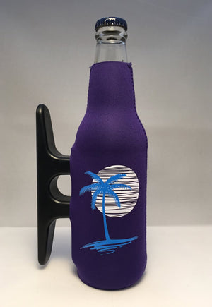 Purple Cleatus Cooler, Palm Tree