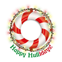 Happy Hullidays Life Ring