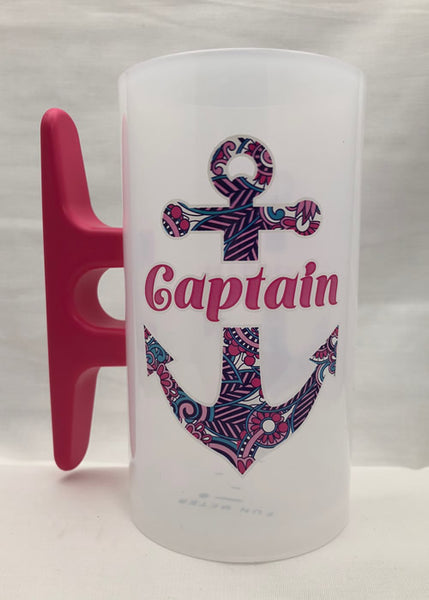 Paisley Anchor Captain Hot Pink