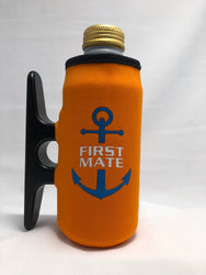 Big Orange Cleatus Cooler, Anchor First Mate