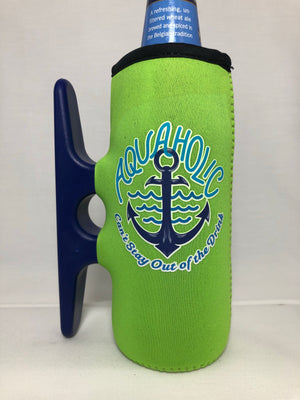 Big Lime Cleatus Cooler, Aquaholic Anchor