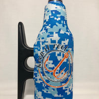 H2O Camo Zipper Cooler, Keep It Reel Blue & Orange
