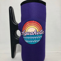 Big Purple Cleatus Cooler, Aquaholic