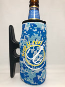 Big H2O Camo Cleatus Cooler, Keep It Reel White/Yellow