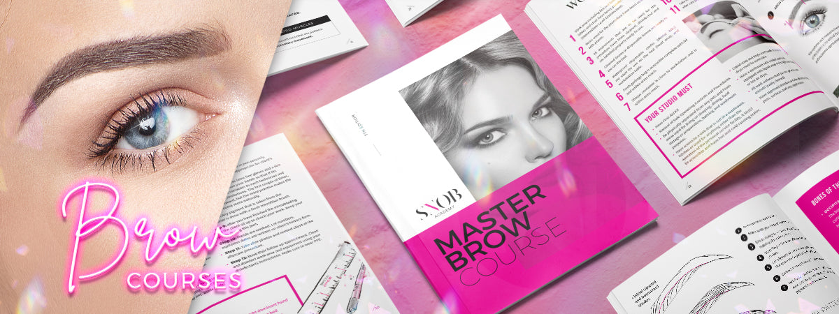 Check out our online brow courses and other master brow courses