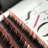 Mink Lashes - Two-tone Colour Eyelash Extensions