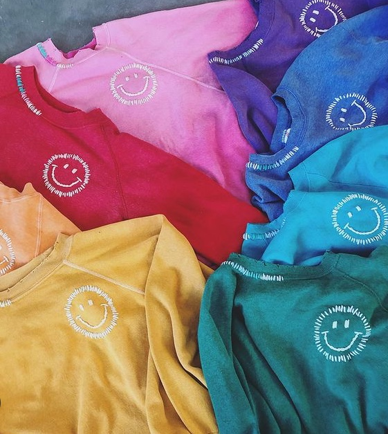 Happy Face Sweatshirts