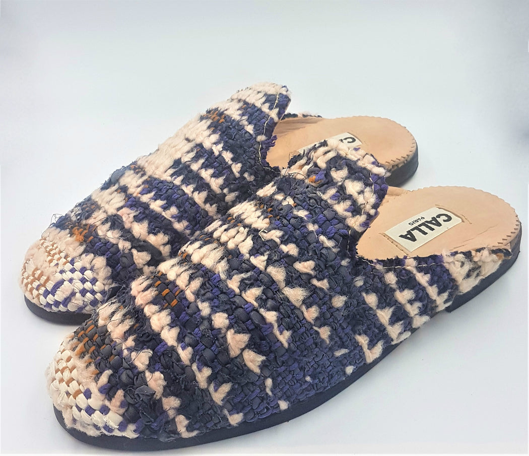 Niki Babouche Slippers - Size 10