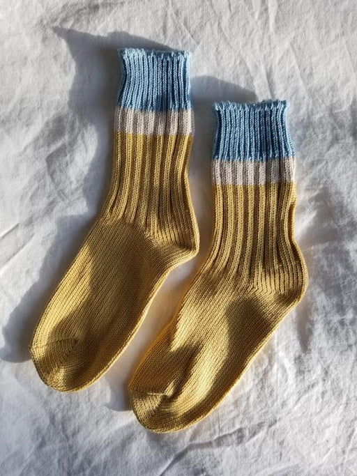Camp Socks | Powder Yellow
