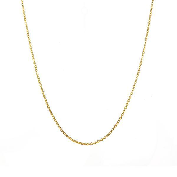 "20"" Faceted Rolo Chain 