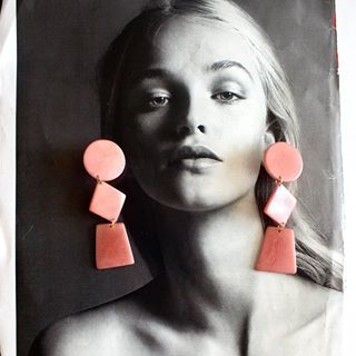 Mateja Earrings | Rose