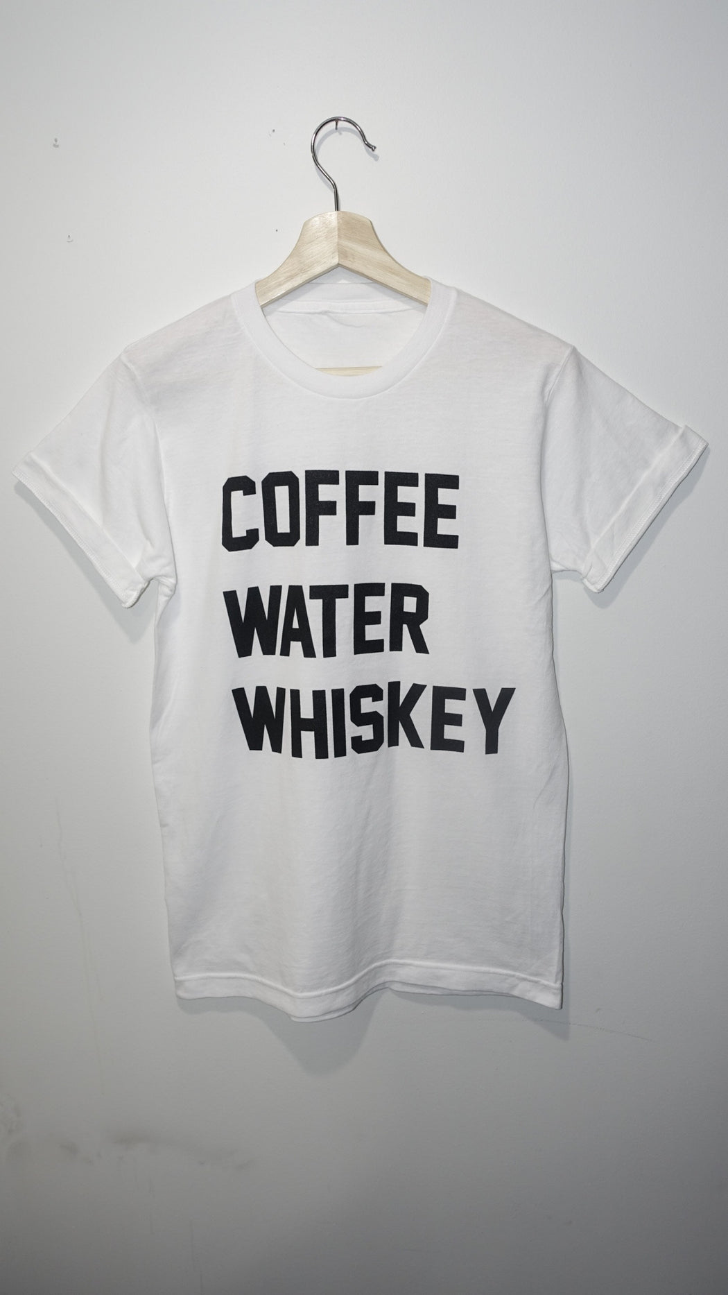 Coffee Water Whiskey Tee