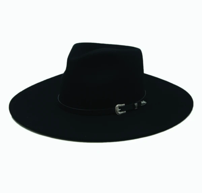 Dakota Wool Fedora | Black