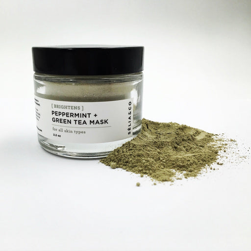 [Brightens] Peppermint + Green Tea Mask