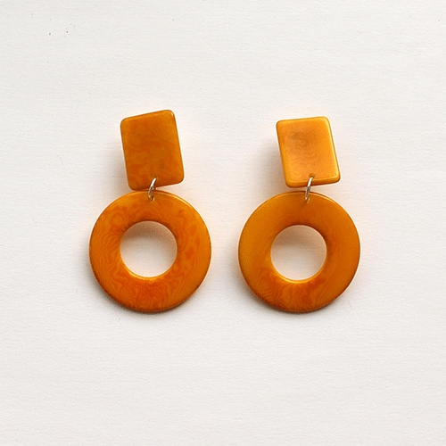 Gucha Earrings | Marigold