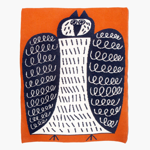 MARCUS OAKLEY Night Owl Mini Blanket