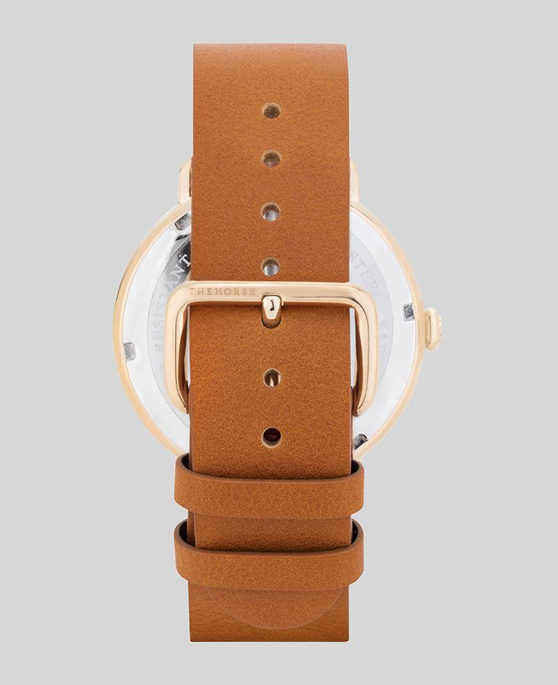 The Heritage Watch | Rose Gold / Tan Leather