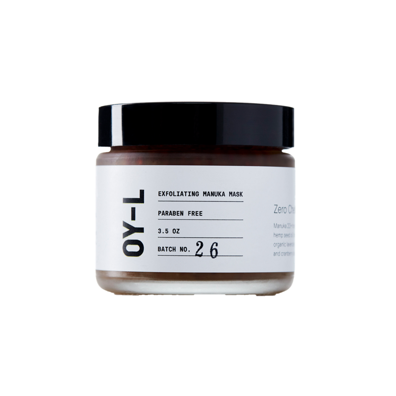 Exfoliating Honey Manuka Face Mask