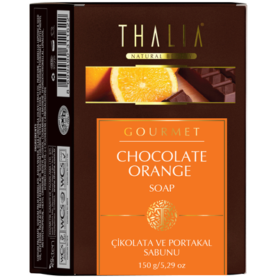 Chocolate and Orange Soap 150g