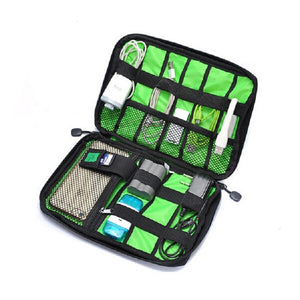 Electronic Accessories Organiser - Digital Device Organiser Organizer - The Voyage Collection