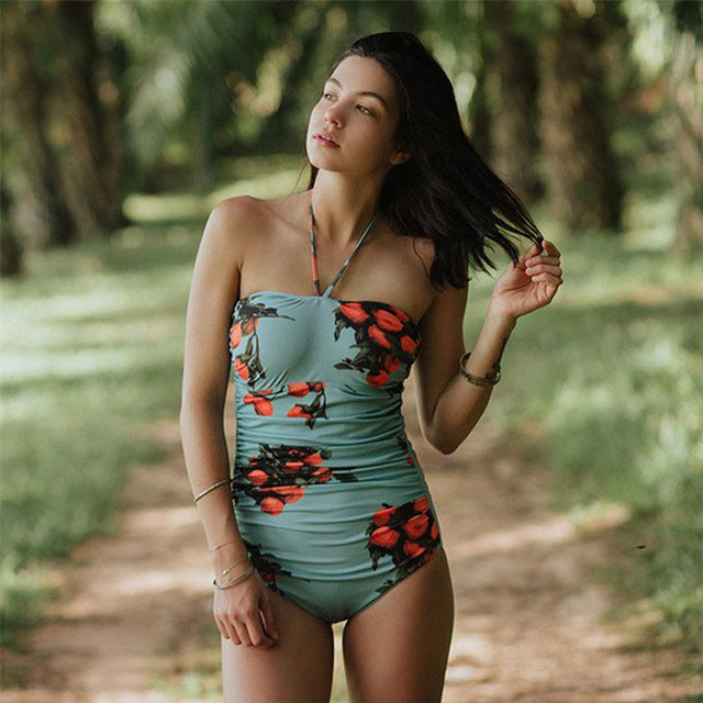 Sexy Chic One Piece Swimsuit with different print designs - Monokini - Summer Fashion swimsuit - The Voyage Collection