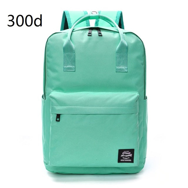 Retro Oxford Style Backpack Backpack - The Voyage Collection