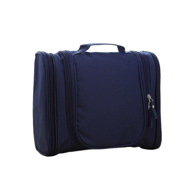 Travel Accessories – Waterproof Toiletory Travel Bag with Hanger  - The Voyage Collection