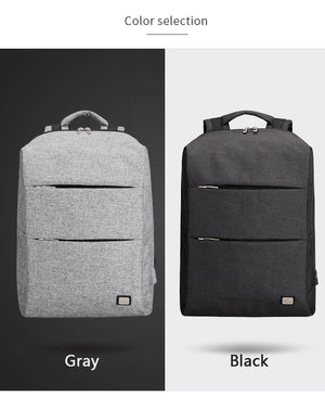 New Business Style Laptop Backpack - Water Repellent Backpack - The Voyage Collection