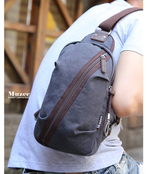 Muzee Cross Body Pack - Large Capacity Sling - The Voyage Collection