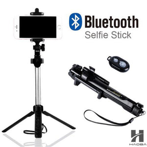 Tripod Monopod Selfie Stick Bluetooth With Button for Phone - Summer Seflies Selfie - The Voyage Collection