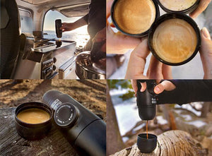 Mini Portable Nespresso Maker -  Manual Handheld Coffee Machine for Travel & Camping - Nespresso Capsule Compatible  - The Voyage Collection