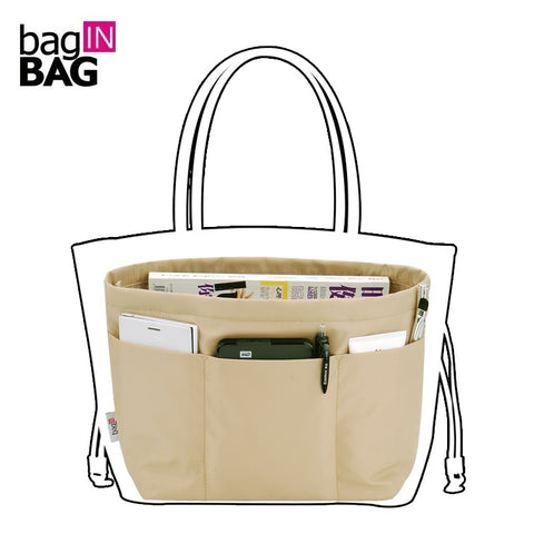 Bag in Bag Women Hand Bag Organiser – Very convenient for Travel Pockets