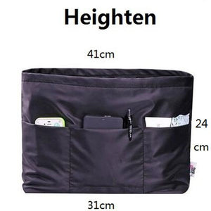 Bag in Bag Women Hand Bag Organiser – Very convenient for Travel Pockets  - The Voyage Collection