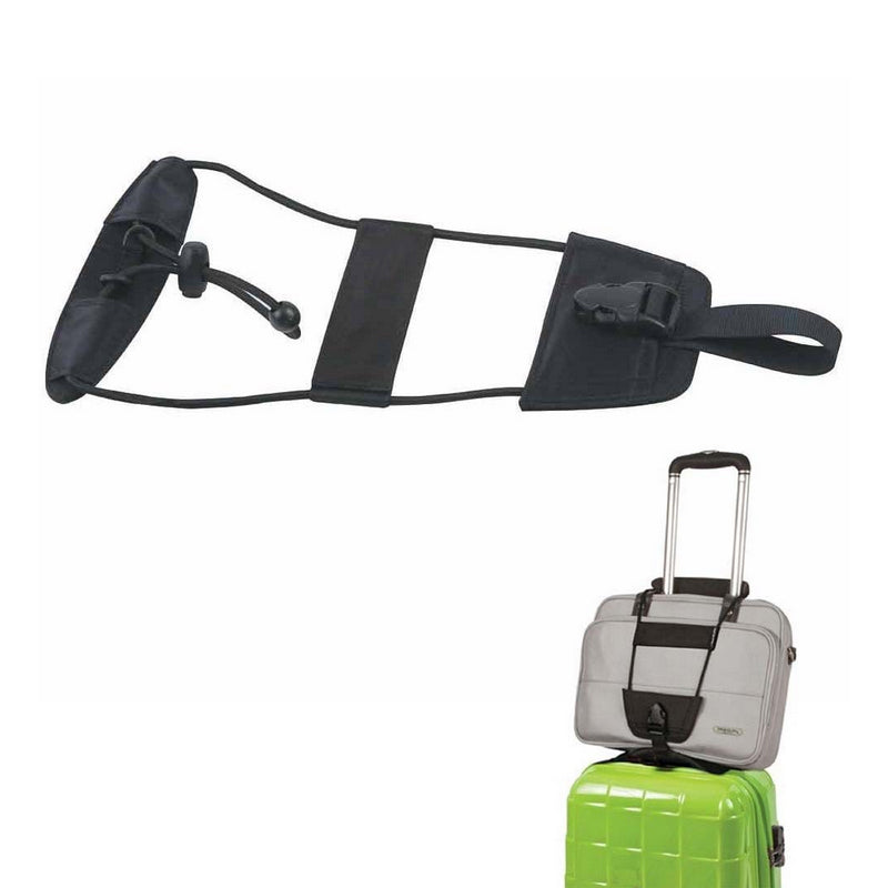 Luggage Accessories – Adjustable Luggage Strap for easy transport of carry-on bags  - The Voyage Collection