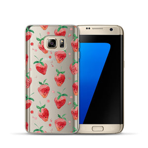 Summer Fruit Phone Cases - Phone Cover Soft Silicone for Samsung Phone - The Voyage Collection